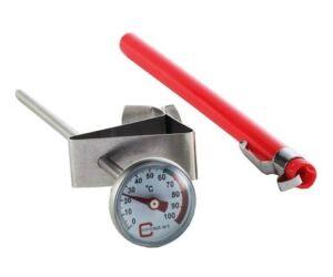 Klipszes thermometer folyadékhőmérő