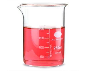 Üveg mérőedény 250ml
