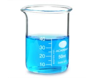Üveg mérőedény 40ml