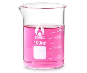 Üveg mérőedény 80ml