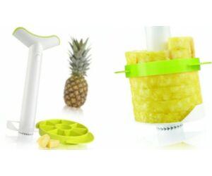 Vacu Vin ananász szeletelő és cikkvágó szett 3db-os