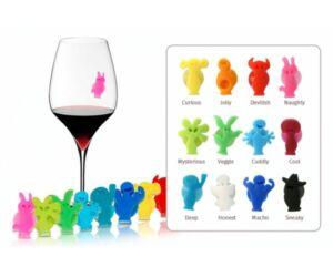 Vacu Vin Party pohárjelölő 12db-os