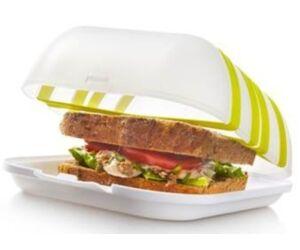 Vacu Vin szendvicsdoboz szorítógumival