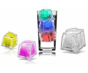 Világító jégkocka 28x28mm választható színekben