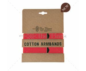 The Bars gumírozott ingujjtartó pink