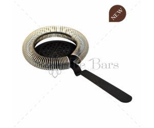 The Bars spirálszűrő julepszűrővel matt fekete