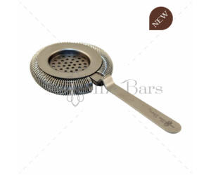 The Bars spirálszűrő julepszűrővel matt acél