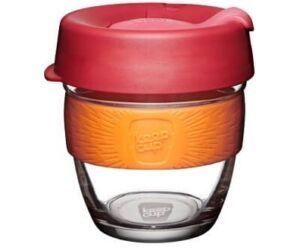 KeepCup Brew Café üveg pohár kávés termosz SOLAR 240 ml