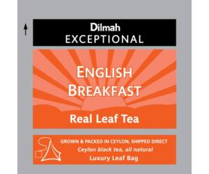 Dilmah Exceptional English Breakfast fekete tea 30 filter/doboz