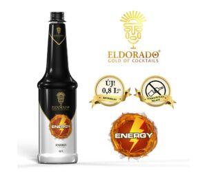 Gluténmentes Eldorado Energy szirup 0,8 L