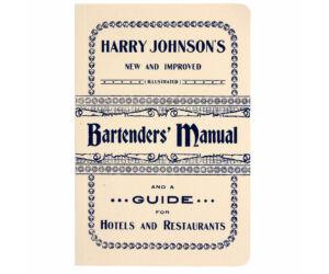 Harry Johnson - Bartender's Manual kézi és koktélkönyv