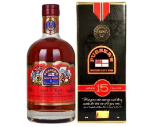 Pussers British Navy Rum 15 years 0,7L 40% pdd.
