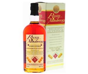 Malecon 12 éves Panamai rum 0,7 40% pdd.