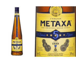 Metaxa 5* Brandy 0,7L 38%