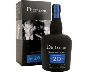 Dictador 20 éves Rum 40% 0,7 pdd