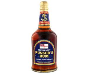 Pussers British Navy Rum Original Blue Label 0,7L 40%