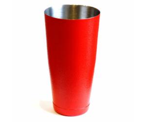 JP boston koktél shaker érdes felületű piros 750ml