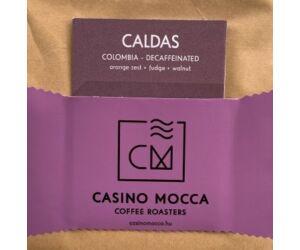 Casino Mocca - Caldas Decaf Kolumbia szemes kávé eszpresszónak - 200 gr