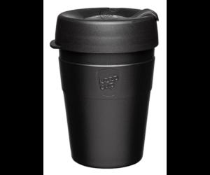 KeepCup Thermal Café üveg pohár kávés termosz BLACK 360 ml