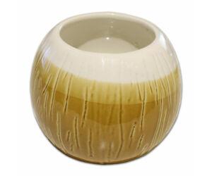 Tiki Kókusz pohár mázas
