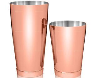 Kenko boston shaker fém keverőpohárral réz színű