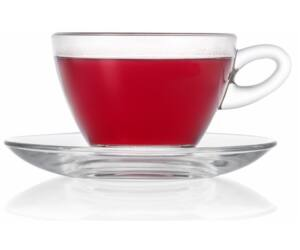 Mocca teás csésze és alj 300ml 2db/doboz