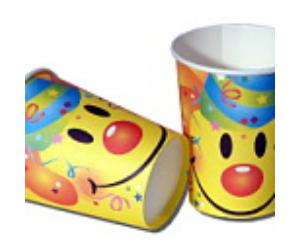 Smiley pohár 6 db/cs