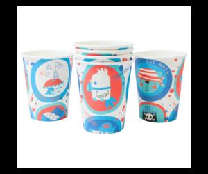 Kistengerész papír pohár 6 db/cs 270 ml