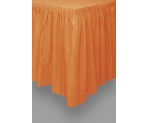 Narancssárga asztalszoknya 73 x 426 cm