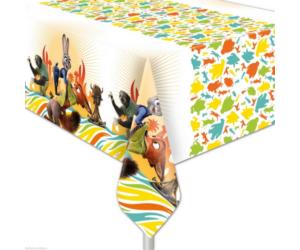 Zootropolis műanyag asztalterítő 120 x 180 cm