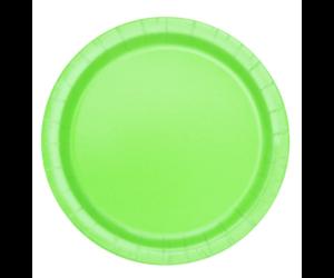 Almazöld papír tányér 23 cm-es 8 db/cs