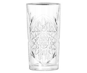 Hobstar long drinkes pohár platina karimával 474 ml