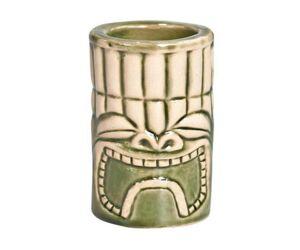 Tiki pohár Angry shot zöld