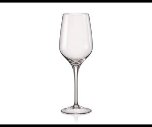 Rebecca fehérboros kristály pohár 350ml
