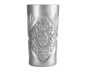 Hobstar long drinkes pohár ezüst színű 474 ml