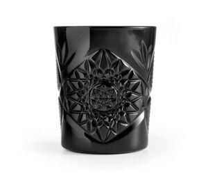 Hobstar old fashioned pohár  fekete 355 ml