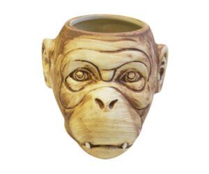 Tiki majom fej pohár matt 550 ml