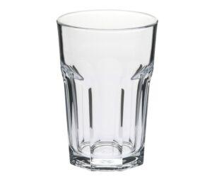 Casablanca polikarbonat pohár 350 ml