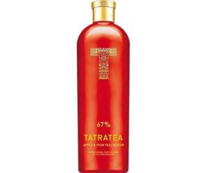 Tatratea 67% alma & körte tea likőr 0,7L (Ajándék Tatra Tea Pohárral)