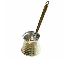 Török kávé készítéséhez ibrik-cezve bronz 100ml
