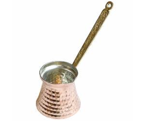 Török kávé készítéséhez ibrik-cezve réz 200ml