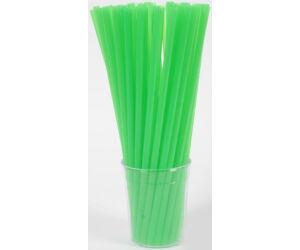 Vastag zöld szívószál 8mm 500db/cs