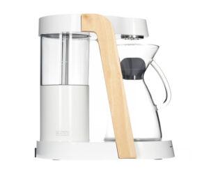 Ratio Eight Coffee Maker - White / Parawood Filterkávé készítő