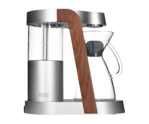 Ratio Eight Coffee Maker - Bright Silver / Walnut Filterkávé készítő