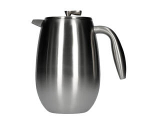 Matt Chrome 1L 8 csészés Columbia Bodum French Press