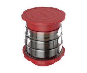 Cafflano piros Kompact kézi kávéfőző