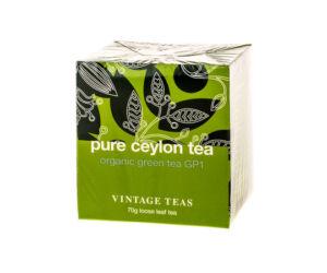 Vintage Pure Ceylon Organikus Zöld  Szálas Tea 70 gr