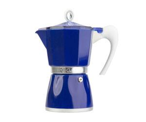 Bella Kék 6 csészés Gat Kotyogós Kávéfőző