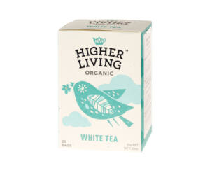 Higher Living Fehér Filter Tea 20 filter