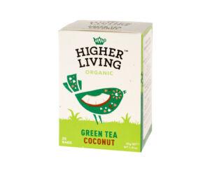Higher Living Green Tea Coconut Filter tea 20 filter